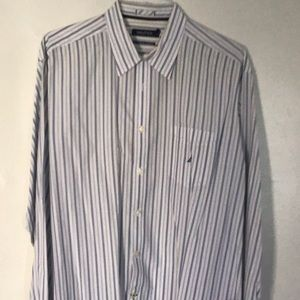 Pre owned Nautical men's dress shirt XL.